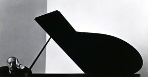 Arnold Newman - Stravinsky Crop